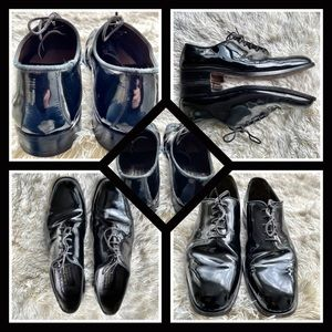 To Boot NY Men's Patent Leather Tux Shoes. US 10